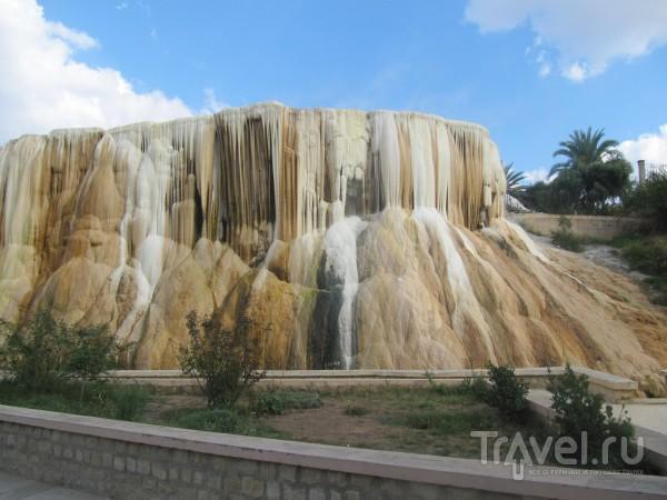 Застывший водопад / Алжир