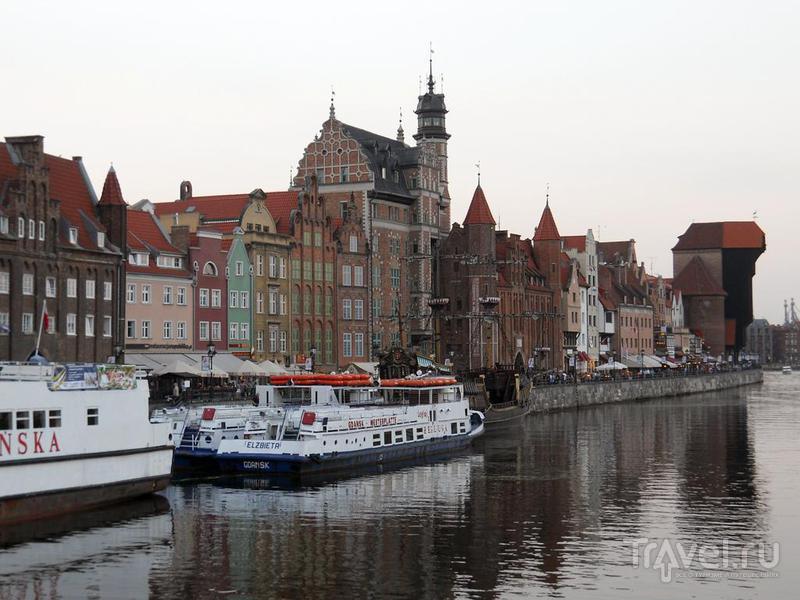 Вид на набережную / Польша