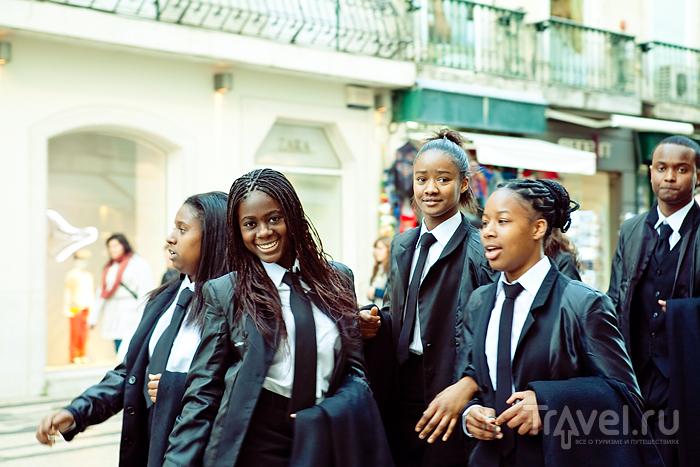 Студентки в форме / Португалия