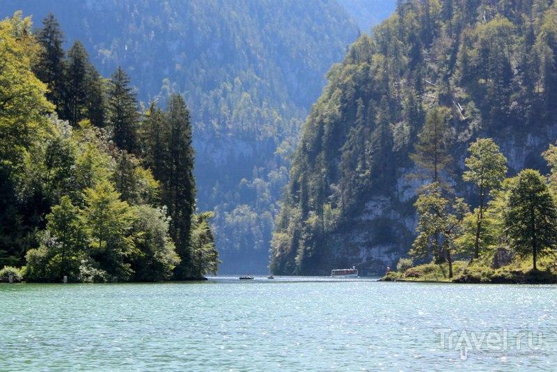 Вид на озеро / Австрия