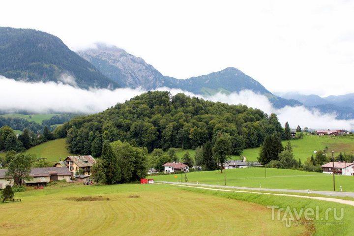Облака на склоне / Австрия
