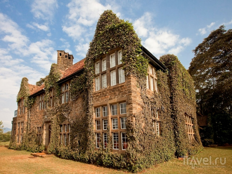 Отель Giraffe Manor, оформленный в колониальном стиле, Кения / Кения