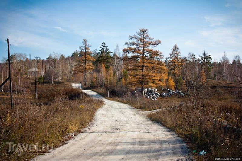 Известковый карьер в Миассе / Россия
