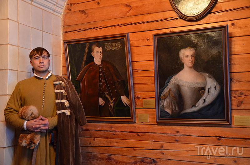 Портреты в музее Ваньковичей / Фото из Белоруссии