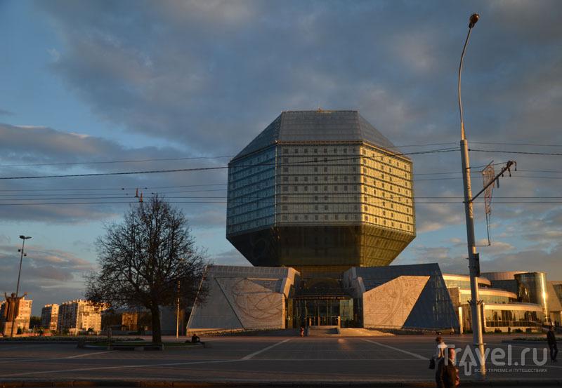 Центральная белорусская библиотека / Фото из Белоруссии