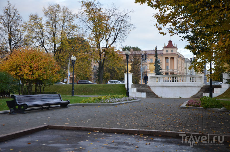 Парк в центре Минска / Фото из Белоруссии