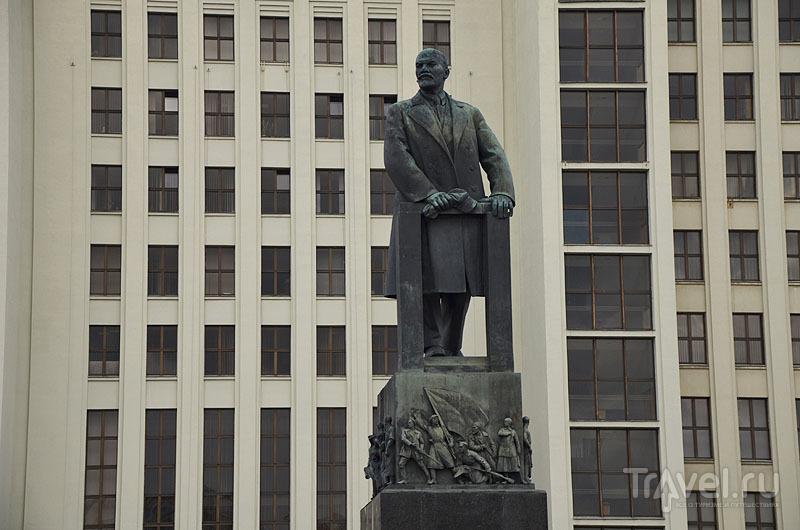 Памятник Ленину на площади Ленина / Фото из Белоруссии
