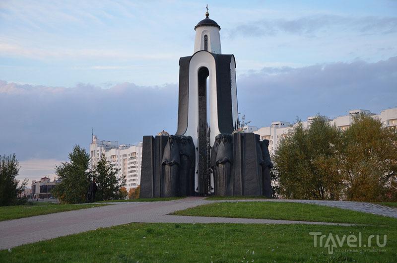 Часовня на Острове слёз / Фото из Белоруссии