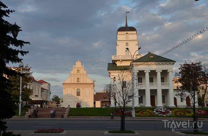 Минская Ратуша / Фото из Белоруссии