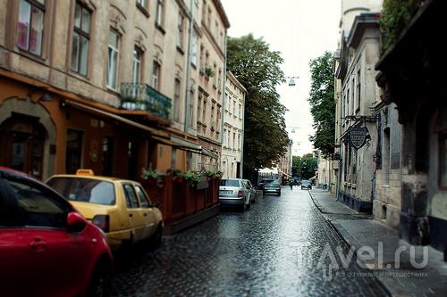 Дождливо-мозаичный Львов / Украина