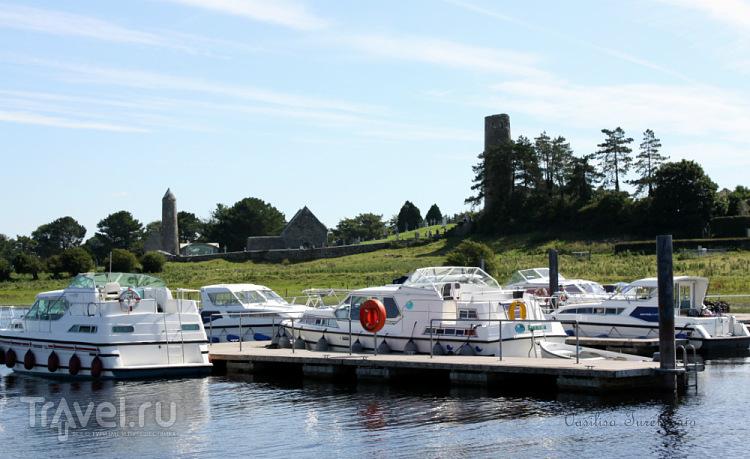 Ирландия: монастырь Клонмакнойз / Фото из Ирландии