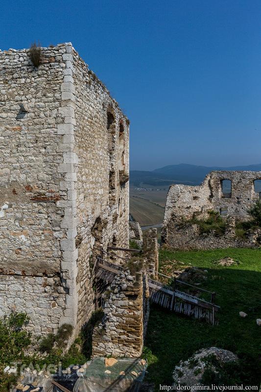 Словацкие замки: Спишский Град / Фото из Словакии