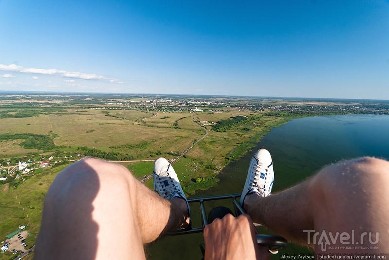 Полеты над Плещеевым озером / Россия