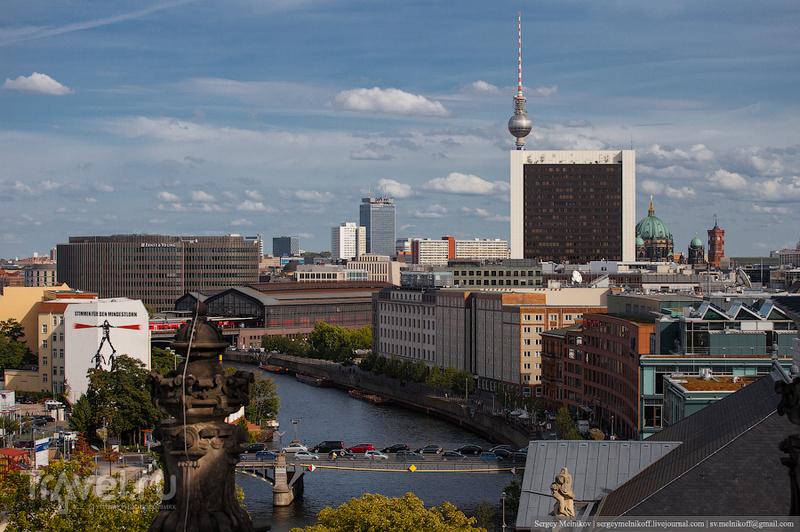 Берлин, стандартные туристические достопримечательности / Германия