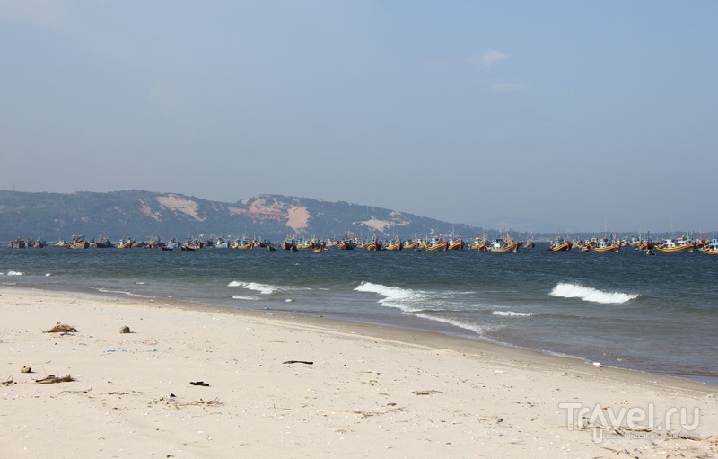 Рыбацкий поселок в южном Вьетнаме / Фото из Вьетнама