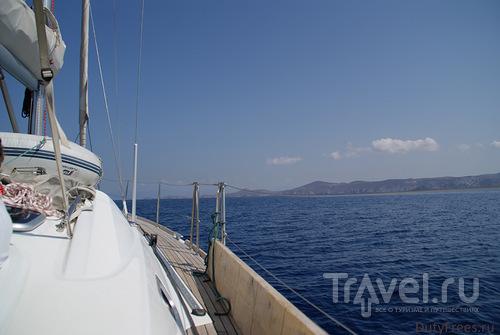 На яхте по греческим островам / Греция