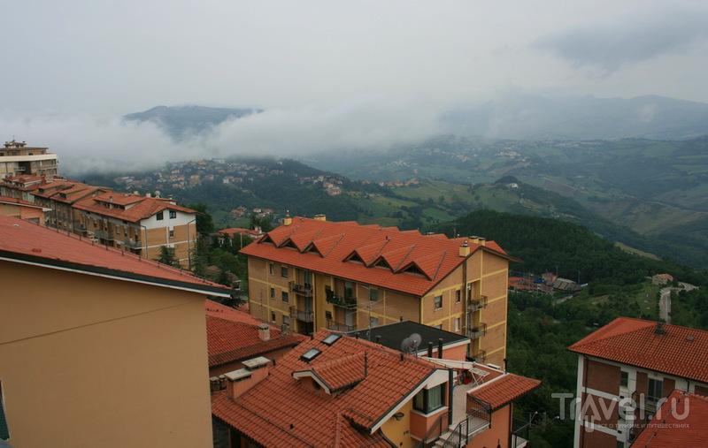 Сан-Марино в облаках / Сан-Марино