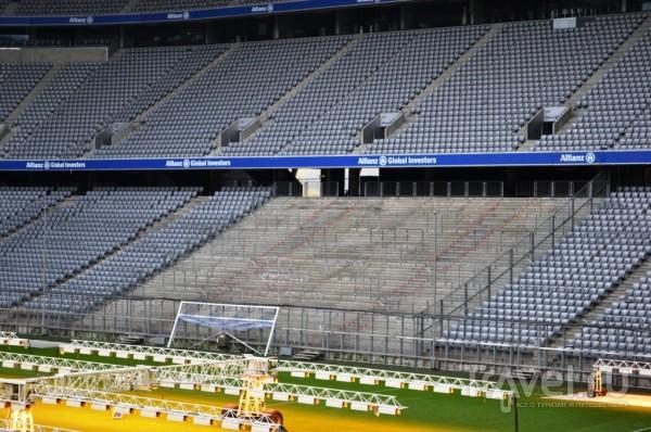 Alianz Arena - выйди на поле, почувствуй себя Рибери! / Германия