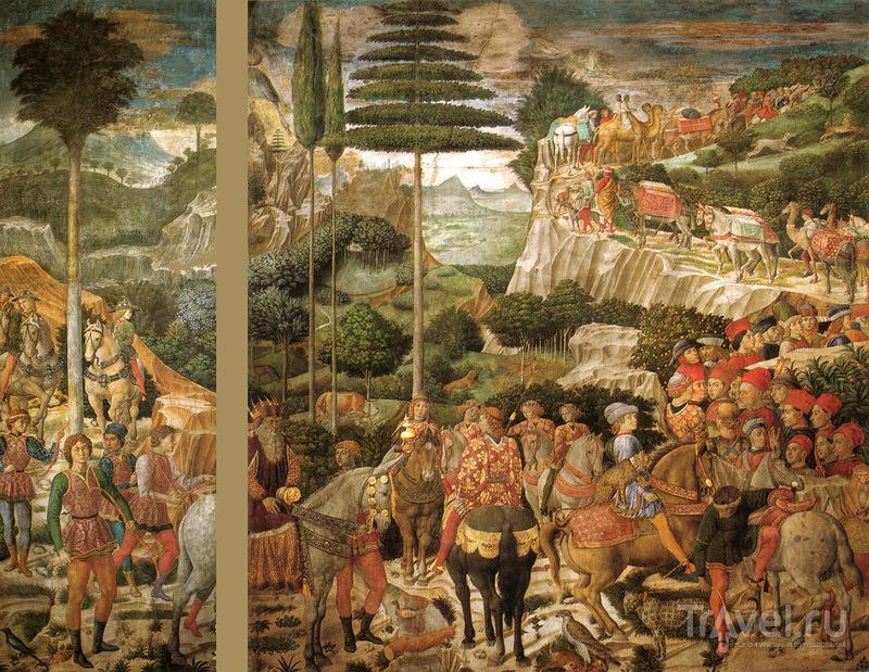Крыши Флоренции и золото красок / Италия