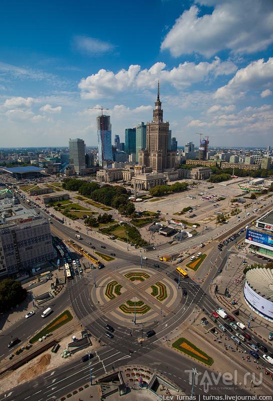 Немного высотной Варшавы / Польша