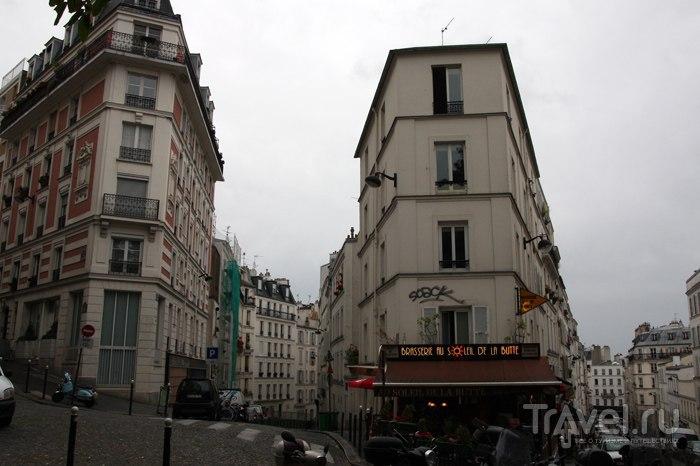 Париж, торжественный и неподражаемый - Монмартр / Франция