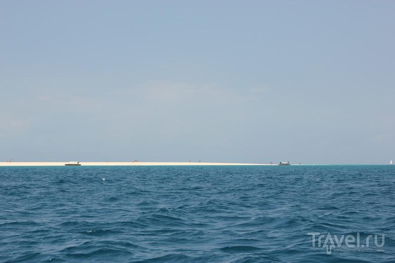 Песчаный остров Индийском океане / Танзания