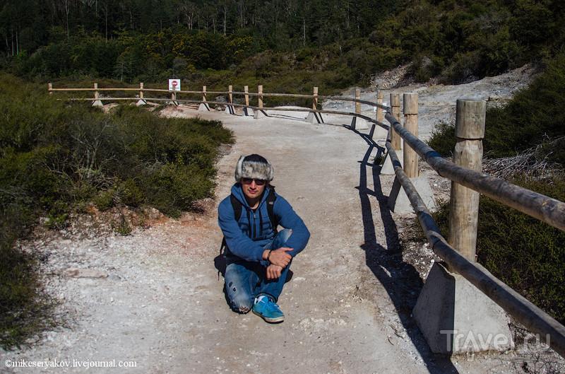 Новая Зеландия: озеро Роторуа - Те-Пуиа / Фото из Новой Зеландии