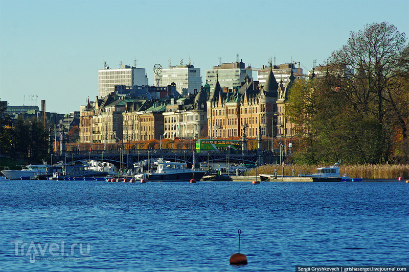 Осень в Стокгольме: Djurgården / Швеция