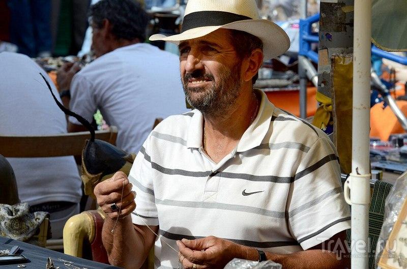 Блошиный рынок в Яффо: Лица / Израиль