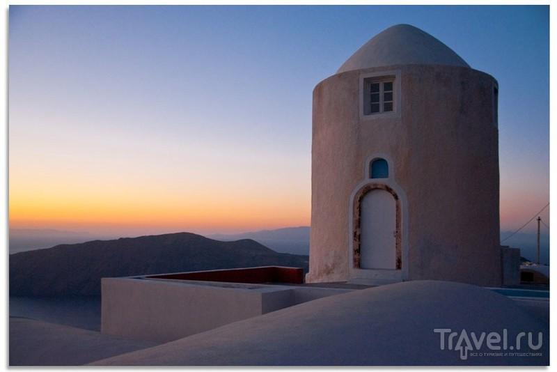 Рассветы и закаты Санторини / Греция