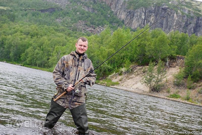 Поездка в Заполярье или рыбалка на реке Ура / Россия