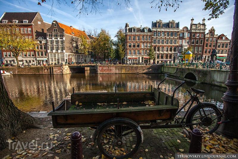 Амстердам. Велосипедный рай / Нидерланды