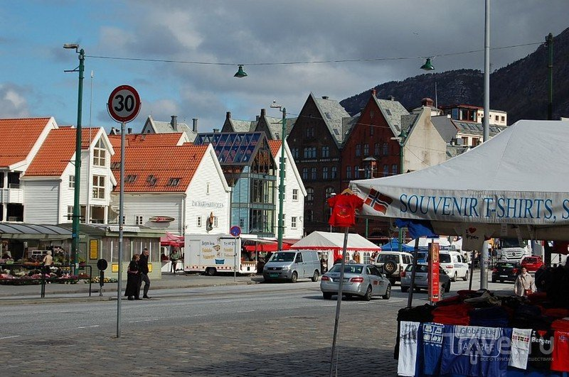 Берген. Брюгген / Норвегия