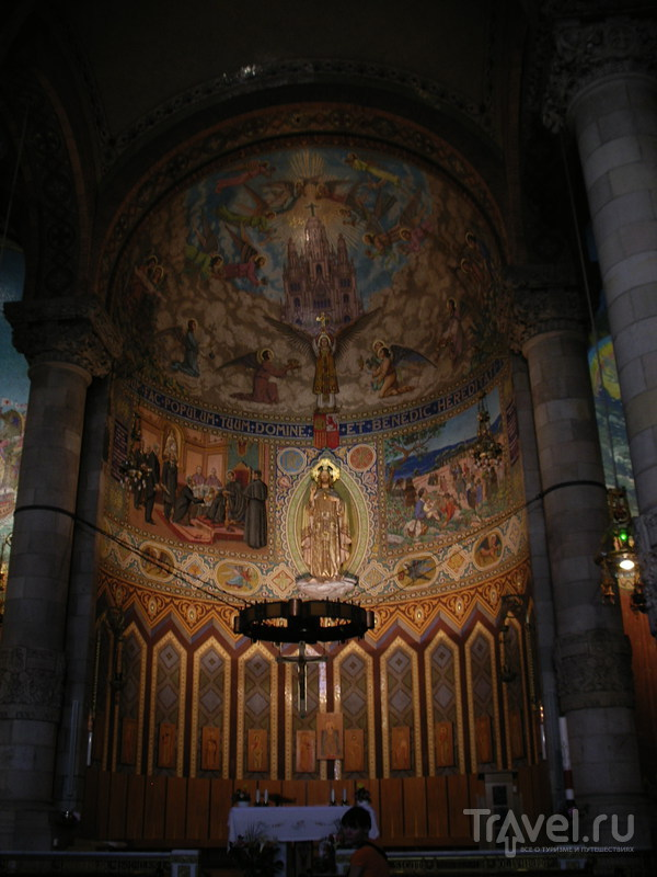 Барселона: Тибидабо - храм Святого Сердца / Фото из Испании
