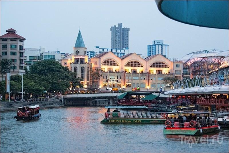 Прогулки по Сингапуру: Clarke Quay / Фото из Сингапура