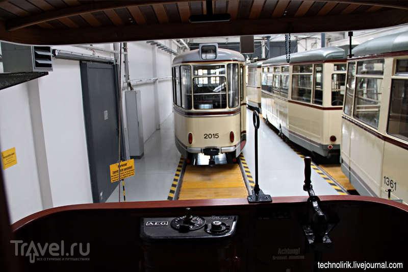 Дрезденский музей трамваев и прогулка на 100-летнем трамвае по Дрездену / Германия