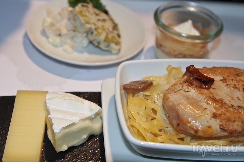 Еда для самолетов - SWISS и Gate Gourmet / Швейцария