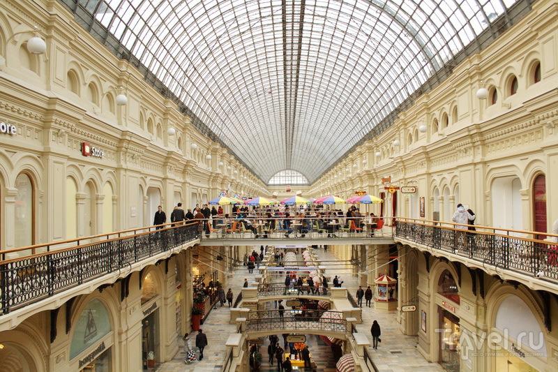 Московский ГУМ глазами туриста / Россия