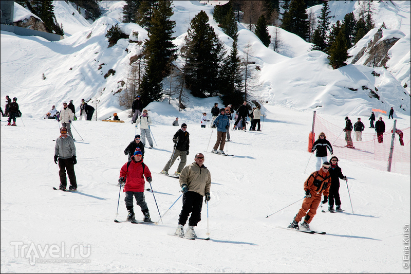 Апрельская горнолыжка / Фото из Франции