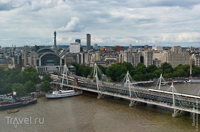 London Eye: колесо обозрения в Лондоне / Фото из Великобритании