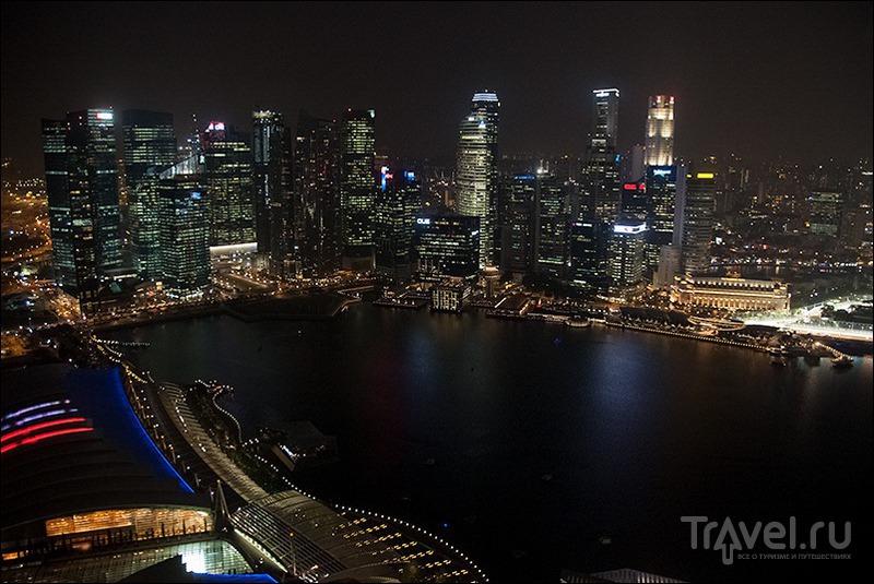 Прогулки по Сингапуру: Marina Bay / Сингапур