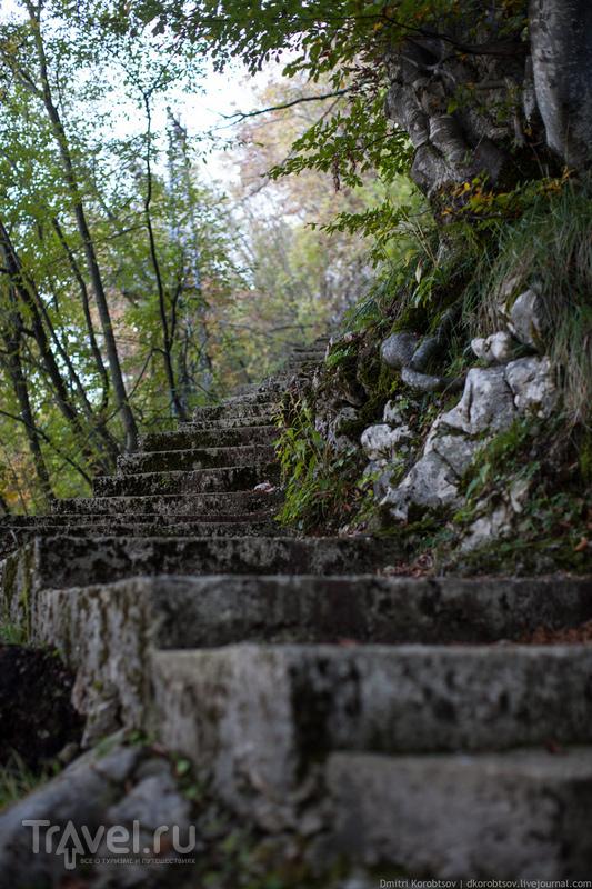Путевые заметки: Пещера Черовак, Хорватия / Хорватия