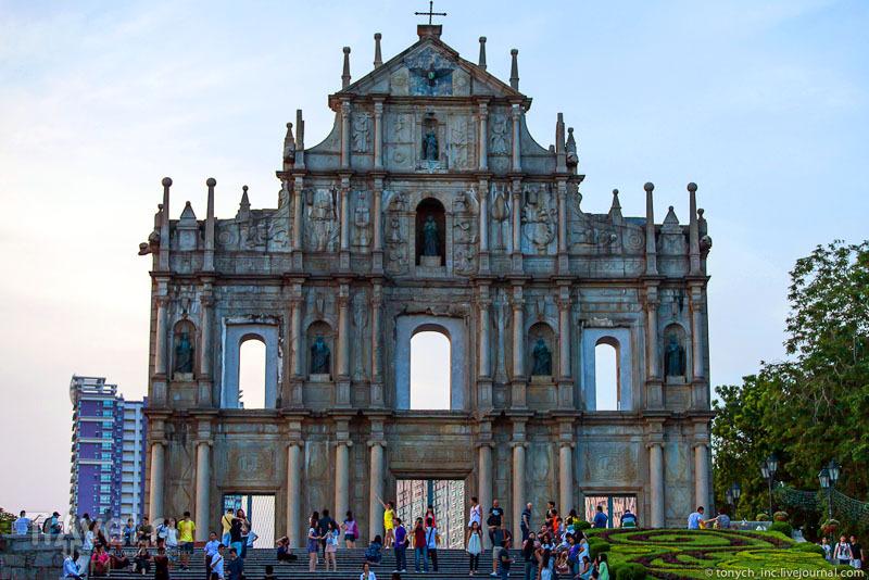 Руины собора Святого Павла  в Макао / Фото из Макао
