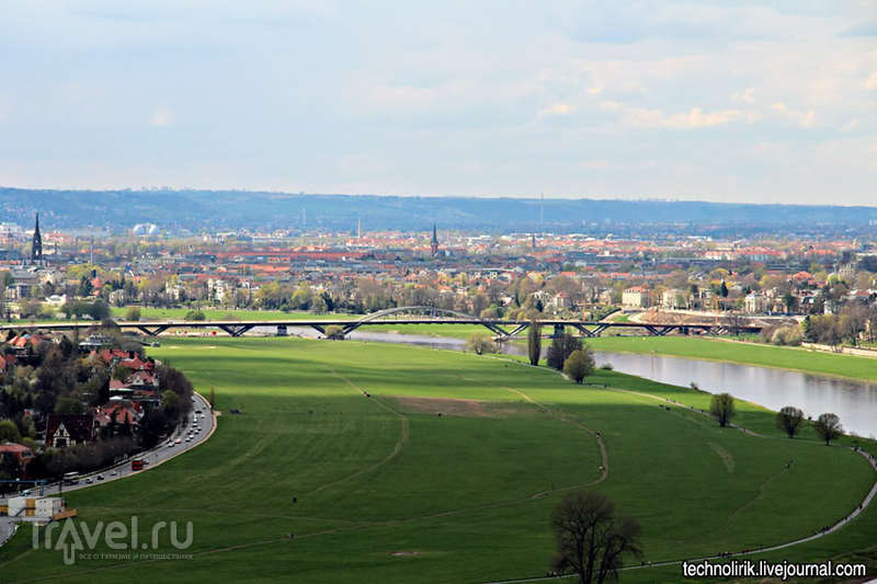 Дрезденская подвесная дорога / Германия