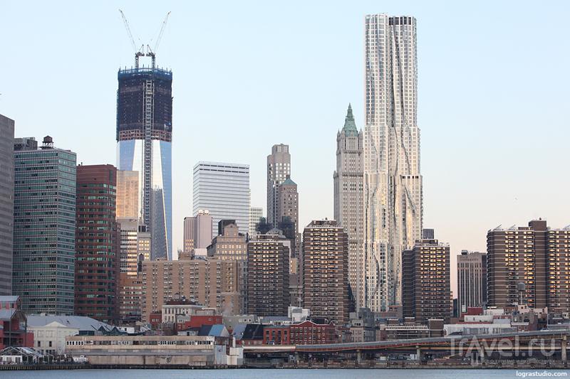 Нью-Йорк: Манхеттен из Бруклина / США