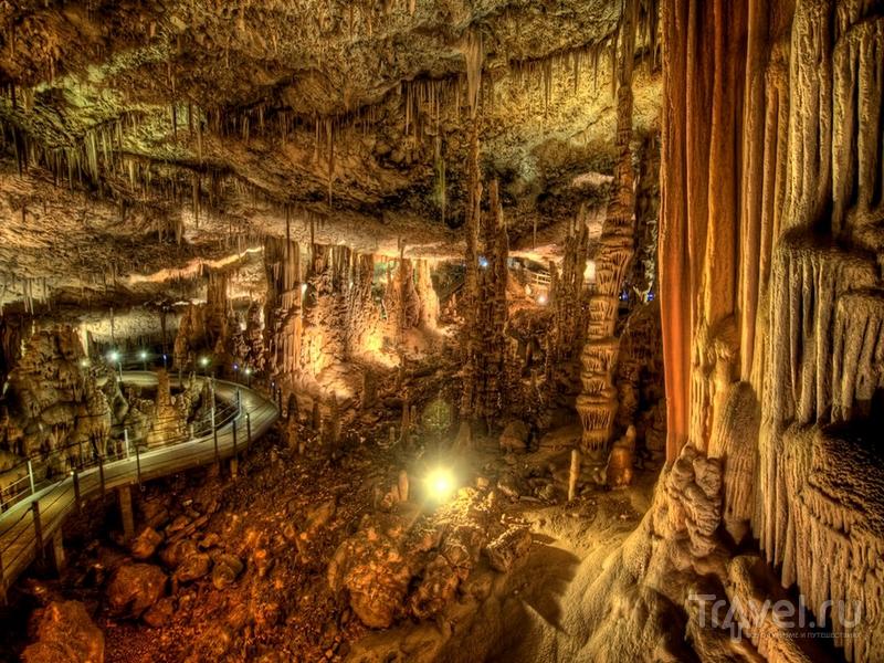 Наросты в пещере Авшалом напоминают декорации фантастических фильмов / Израиль