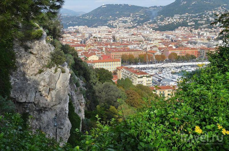 Ницца: Замковая гора и грудь любимой женщины Гюстава Эйфеля / Фото из Франции