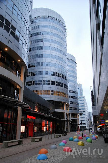 Роттердам - порт и современная архитектура / Нидерланды