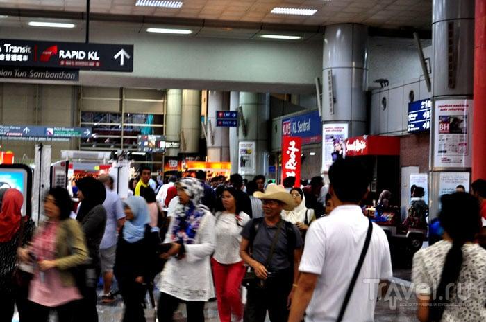 Станция метро KL Sentral, Куала-Лумпур / Фото из Малайзии