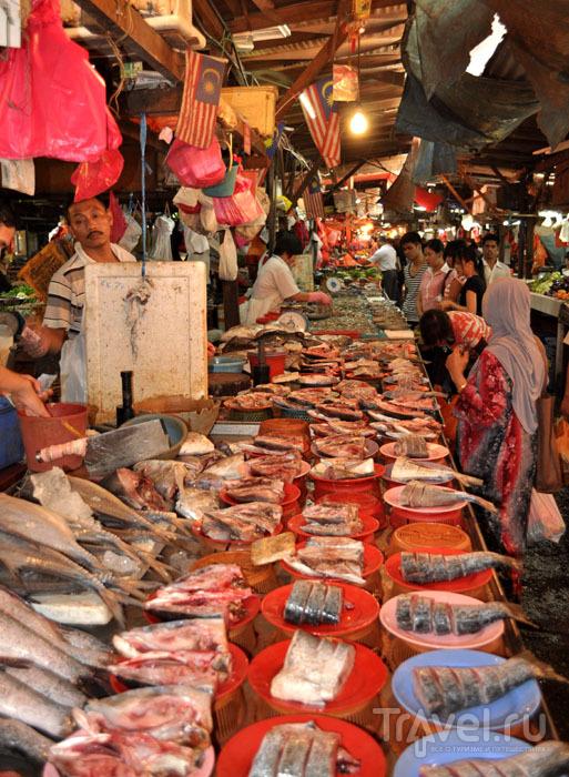 Уличный рынок в Куала-Лумпуре / Фото из Малайзии